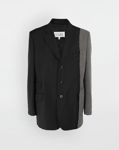MAISON MARGIELA Jacket [*** pickupInStoreShippingNotGuaranteed_info ***] Spliced wool jacket f