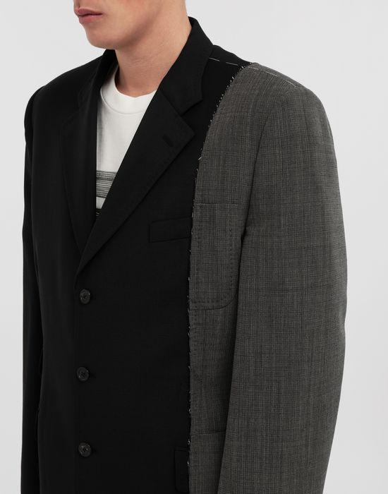 MAISON MARGIELA Spliced wool jacket Blazer [*** pickupInStoreShippingNotGuaranteed_info ***] a