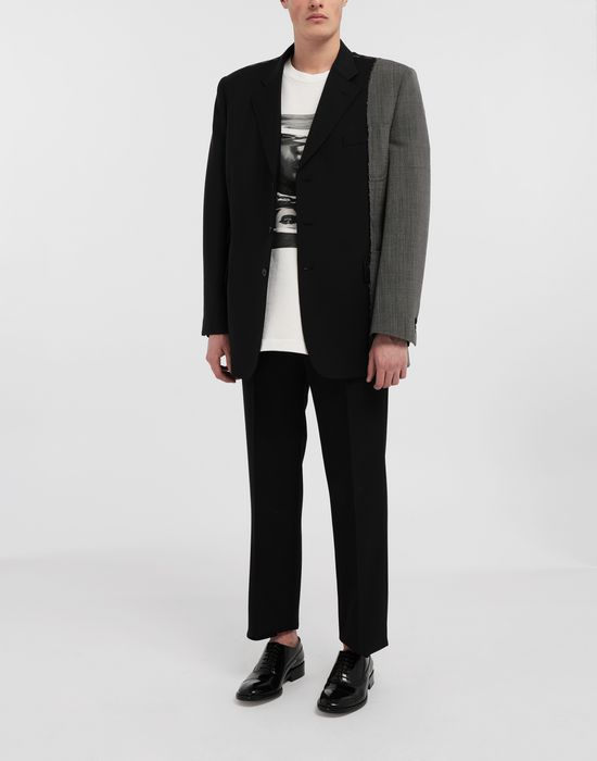 MAISON MARGIELA Spliced wool jacket Blazer [*** pickupInStoreShippingNotGuaranteed_info ***] d