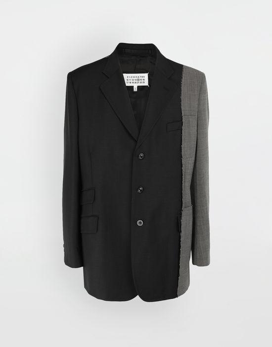 MAISON MARGIELA Spliced wool jacket Blazer [*** pickupInStoreShippingNotGuaranteed_info ***] f