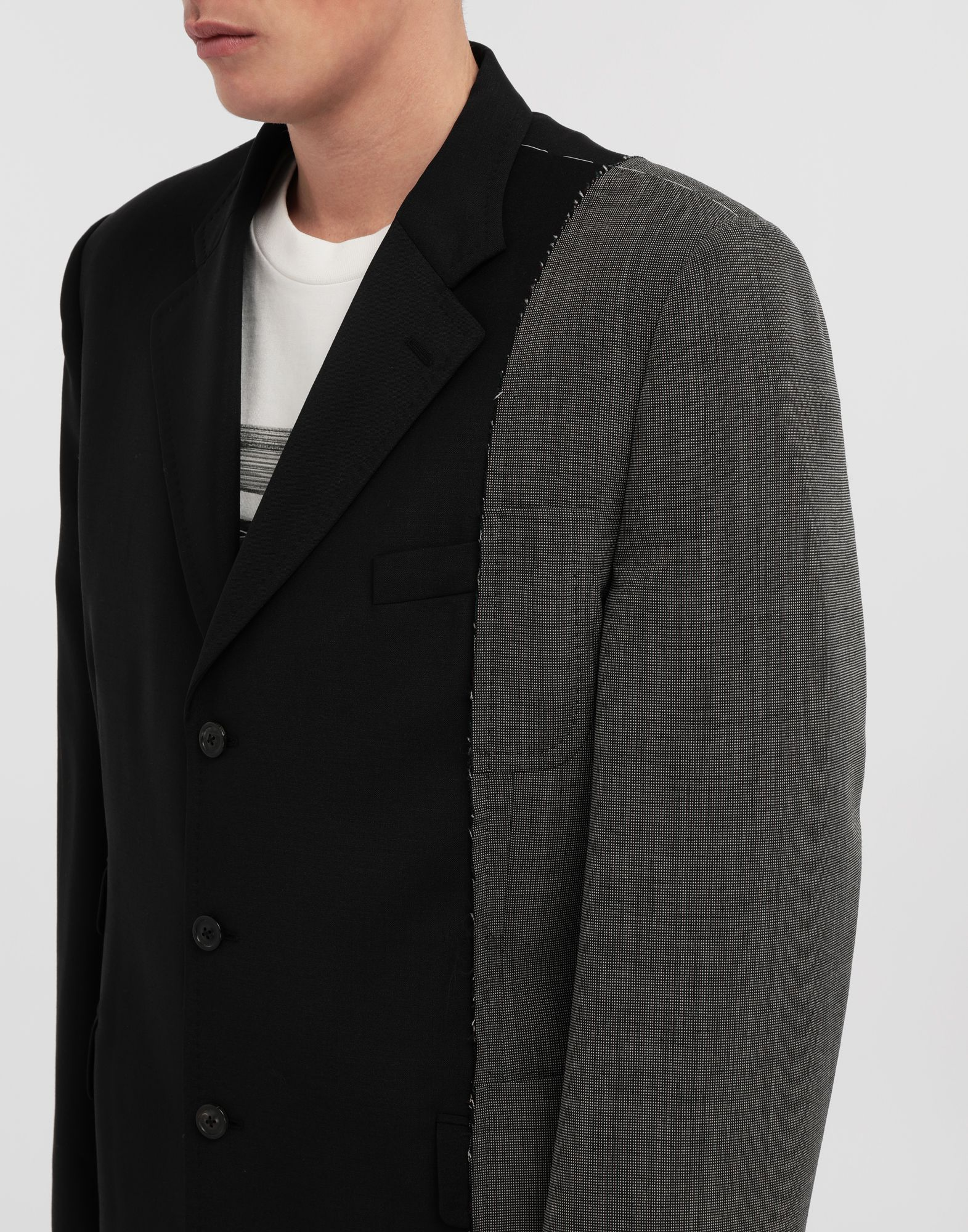 MAISON MARGIELA Spliced wool jacket Blazer Man a