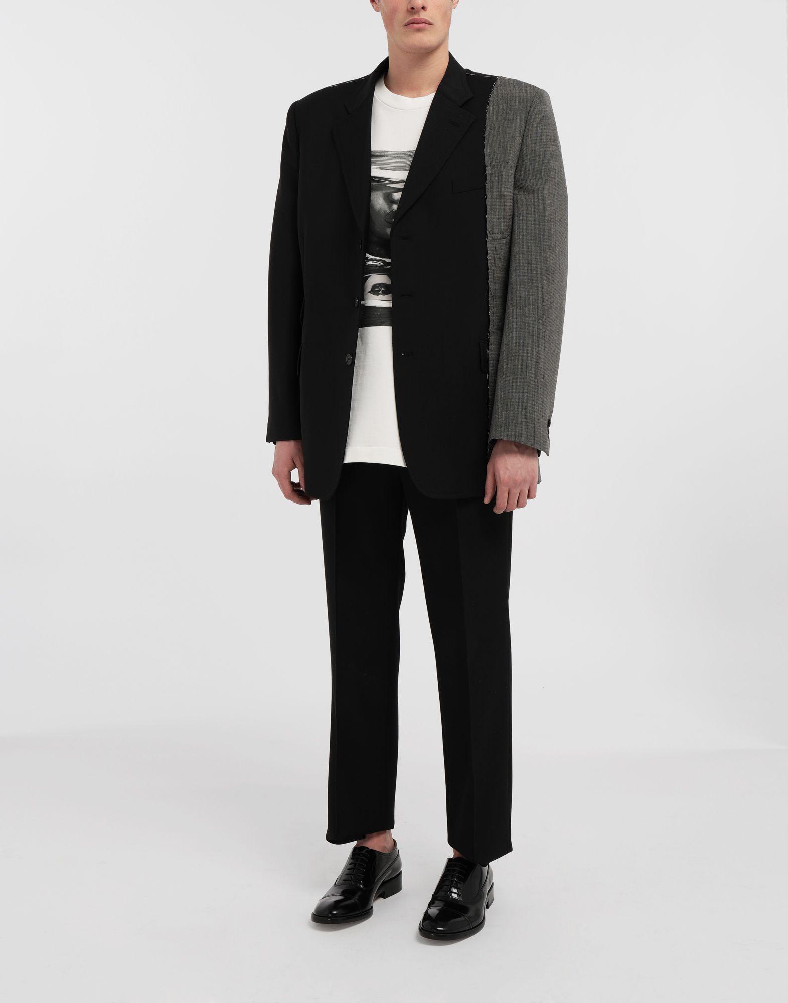 MAISON MARGIELA Spliced wool jacket Blazer Man d