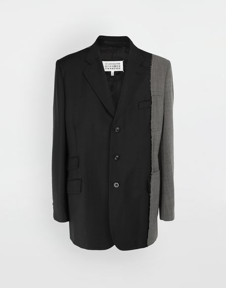 MAISON MARGIELA Spliced wool jacket Blazer Man f