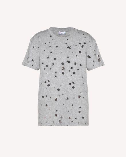Cascading Stars printed T-shirt