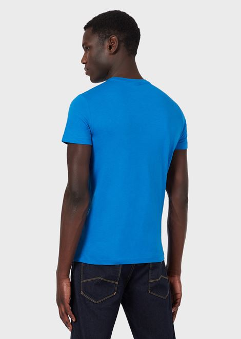 Tシャツ ピマコットンジャージー製 ロゴプリント