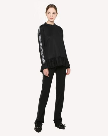REDValentino RR3MF00LZID 0NO Sweatshirt Woman d