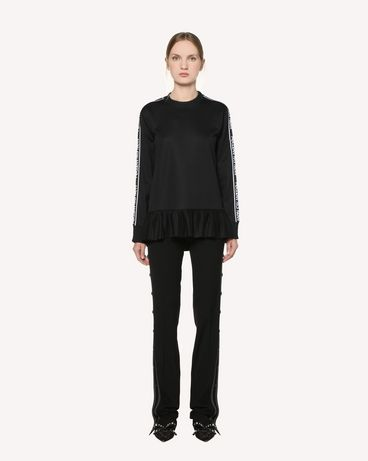 REDValentino RR3MF00LZID 0NO Sweatshirt Woman f