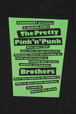 DSQUARED2 The Pretty Pink'n'Punk T-Shirt Футболка с коротким рукавом Для Мужчин