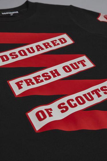 DSQUARED2 Short sleeve t-shirt Man DQ03I1D00MVJDQ100 m