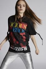 DSQUARED2 Vicious Bros T-Shirt Short sleeve t-shirt Woman