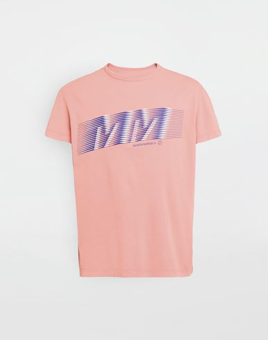 "T-Shirt mit  ""MM""-Logoprint"