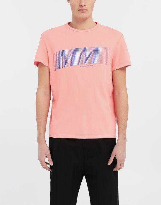 MAISON MARGIELA MM ロゴ プリント Tシャツ T シャツ [*** pickupInStoreShippingNotGuaranteed_info ***] r