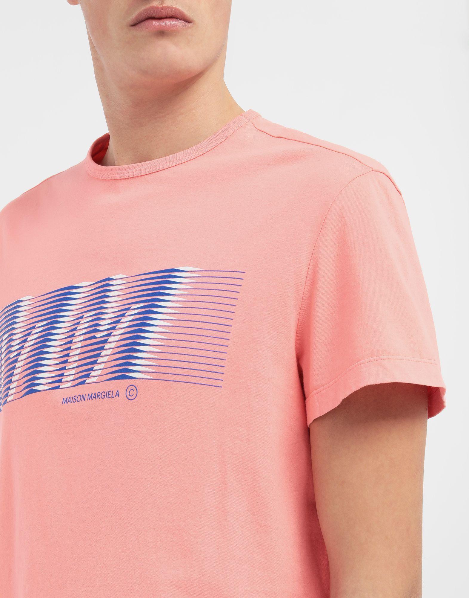 MAISON MARGIELA MM logo print T-shirt Short sleeve t-shirt Man a