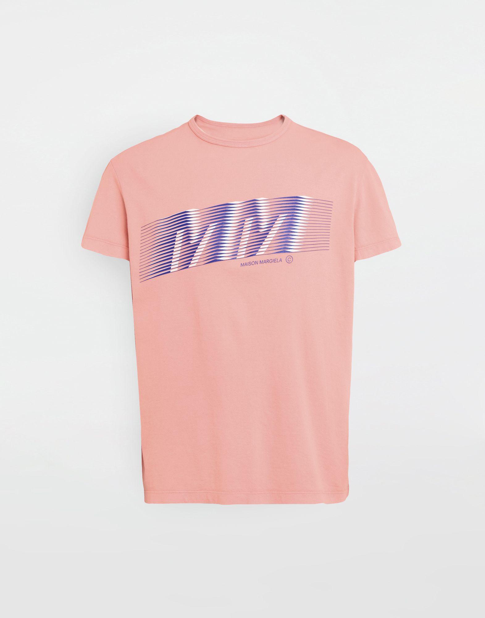 MAISON MARGIELA MM logo print T-shirt Short sleeve t-shirt Man f