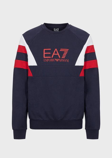 Train 7Colours multicolored sweatshirt in pure cotton