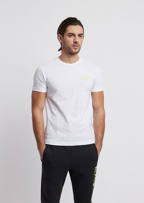 Train Logo t-shirt in single jersey pure cotton