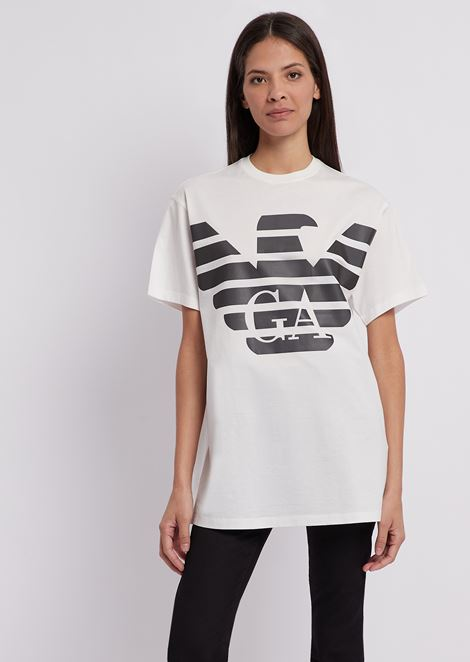 R-EA-MIX T-shirt with reflective maxi logo