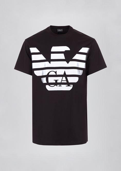 Camiseta R-EA-MIX con maxilogotipo reflectante