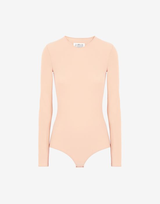 MAISON MARGIELA Long sleeve jersey bodysuit Body [*** pickupInStoreShipping_info ***] f