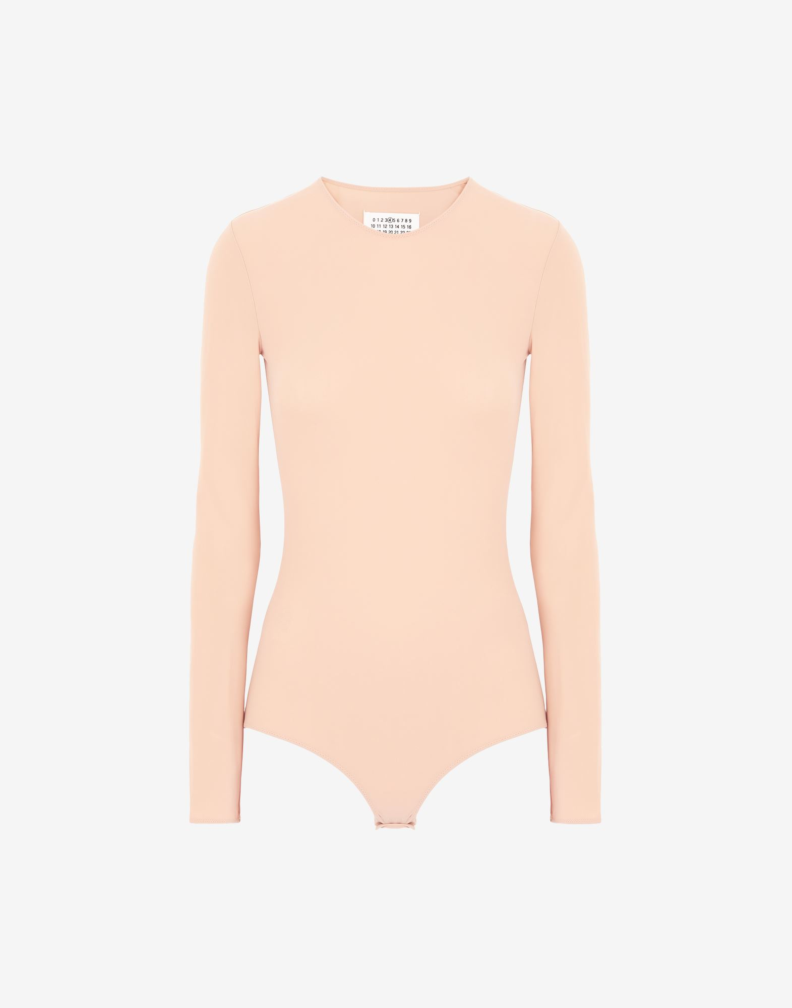 MAISON MARGIELA Long sleeve jersey bodysuit Body Woman f