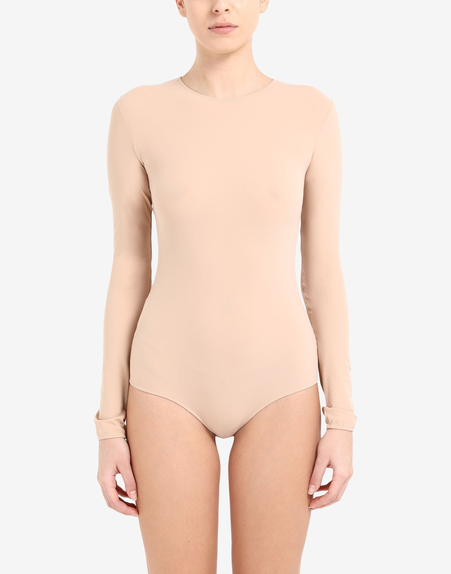 MAISON MARGIELA Long sleeve jersey bodysuit Body Woman r