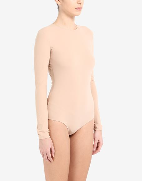 MAISON MARGIELA Long sleeve jersey bodysuit Body Woman d