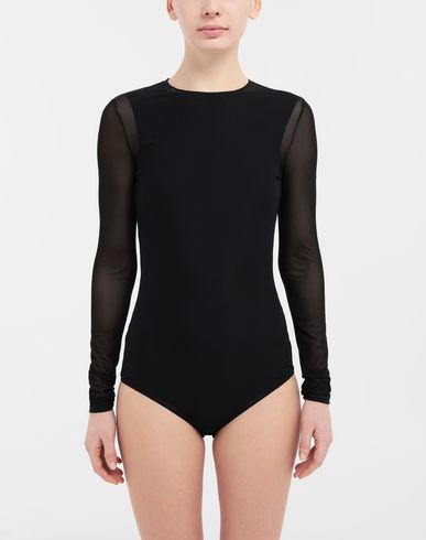 TOPS & TEES Long sleeve jersey bodysuit