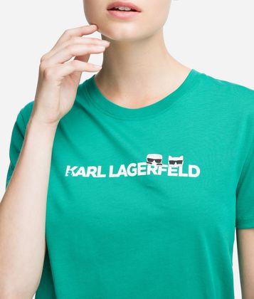 KARL LAGERFELD K/IKONIK LOGO T-SHIRT