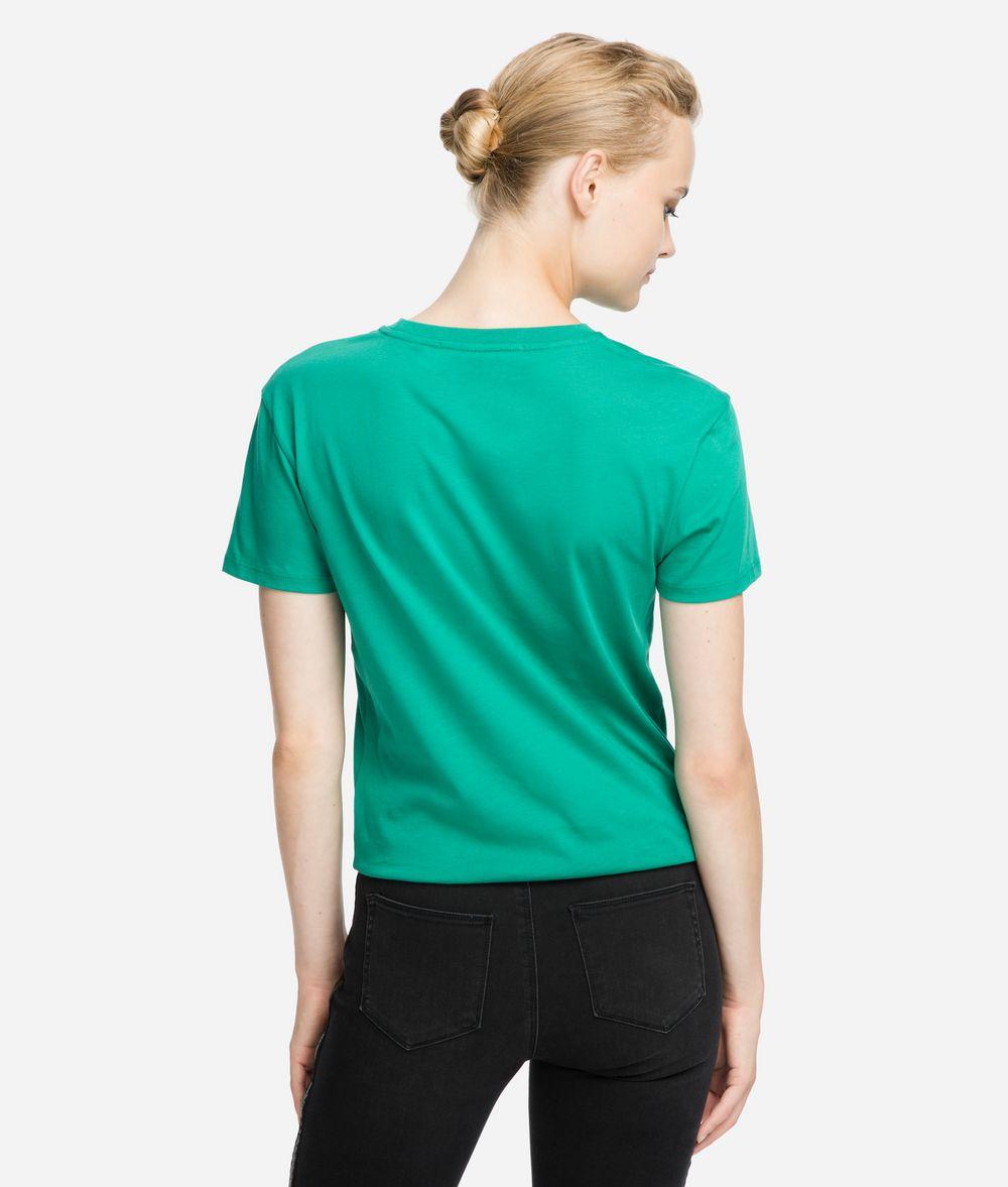 KARL LAGERFELD K/Ikonik Logo T-Shirt T-shirt Woman d