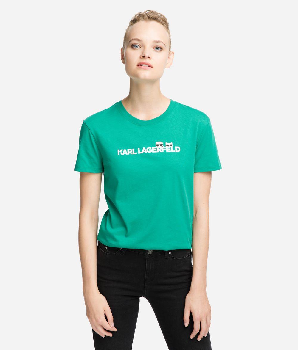 KARL LAGERFELD K/Ikonik Logo T-Shirt T-shirt Woman f