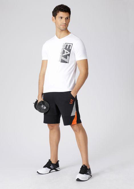Camiseta Train Visibility de algodón elástico con logotipo