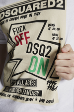 DSQUARED2 F**K Off DSQ2 On T-Shirt Short sleeve t-shirt Man