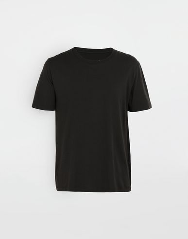 MAISON MARGIELA Short sleeve t-shirt [*** pickupInStoreShippingNotGuaranteed_info ***] 3-pack Stereotype black T-shirt f