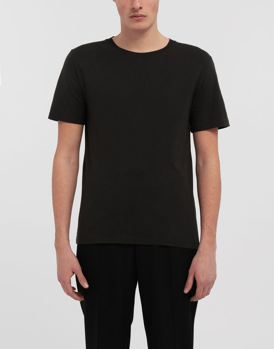 MAISON MARGIELA 3-pack Stereotype black T-shirt Short sleeve t-shirt [*** pickupInStoreShippingNotGuaranteed_info ***] b