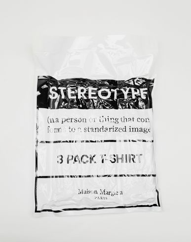 TOPS & TEES 3-pack Stereotype Diamond microprint T-shirt