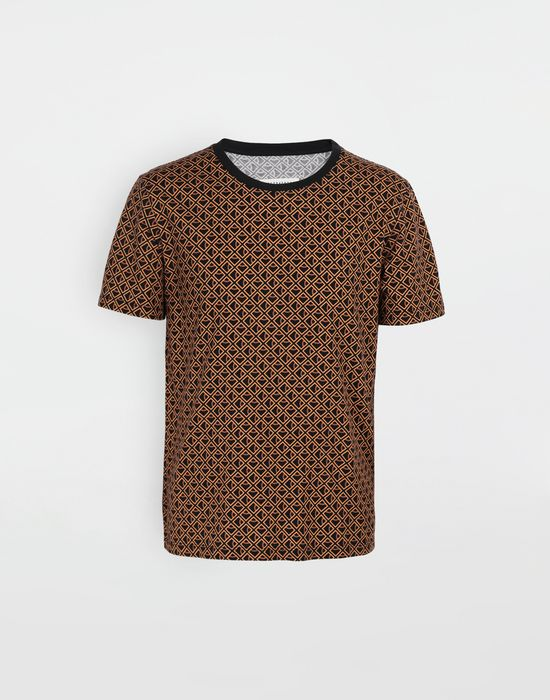 MAISON MARGIELA 3-パック ステレオタイプ ダイヤモンド マイクロプリント Tシャツ T シャツ [*** pickupInStoreShippingNotGuaranteed_info ***] f