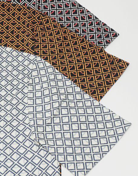 MAISON MARGIELA 3-pack Stereotype Diamond microprint T-shirt Short sleeve t-shirt Man e