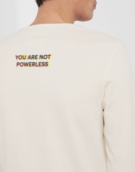 MAISON MARGIELA Logo print pullover Long sleeve t-shirt Man b