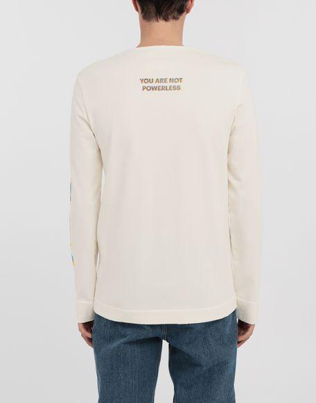 MAISON MARGIELA Logo print pullover Long sleeve t-shirt Man e