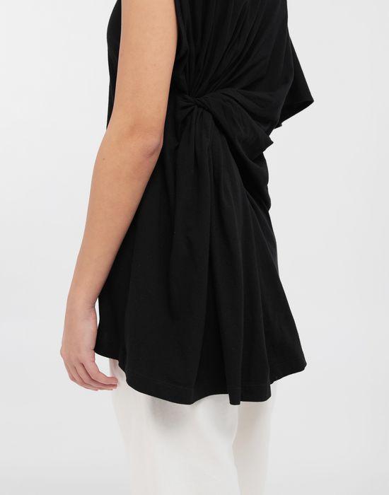 MM6 MAISON MARGIELA Asymmetrical jersey shirt Short sleeve t-shirt [*** pickupInStoreShipping_info ***] b