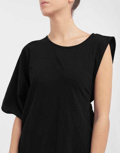 MM6 MAISON MARGIELA Asymmetrical jersey shirt Short sleeve t-shirt Woman a