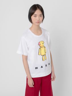 Marni T-shirt in cotton jersey Woman