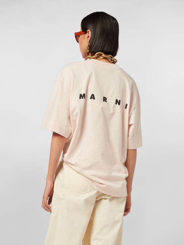 Marni Jersey T-shirt with I Believe print Woman - 3