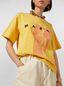 Marni Yellow Jersey T-shirt with Avery print Woman - 4