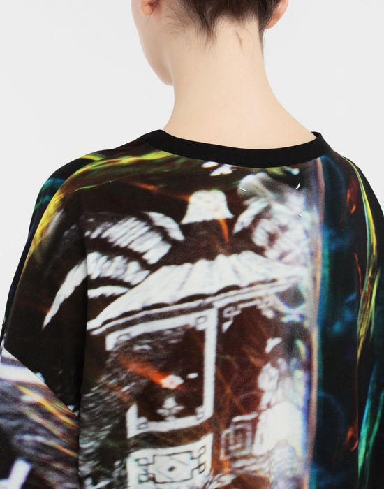 MAISON MARGIELA Moving Metallics-print jersey T-shirt Short sleeve t-shirt [*** pickupInStoreShipping_info ***] b