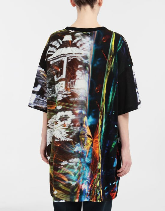 MAISON MARGIELA Moving Metallics-print jersey T-shirt Short sleeve t-shirt [*** pickupInStoreShipping_info ***] e