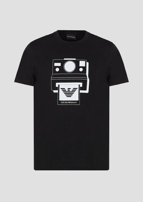 Tシャツ コットンジャージー製 プリント
