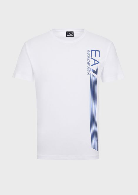 Pure cotton 7Lines Train T-shirt with logo print