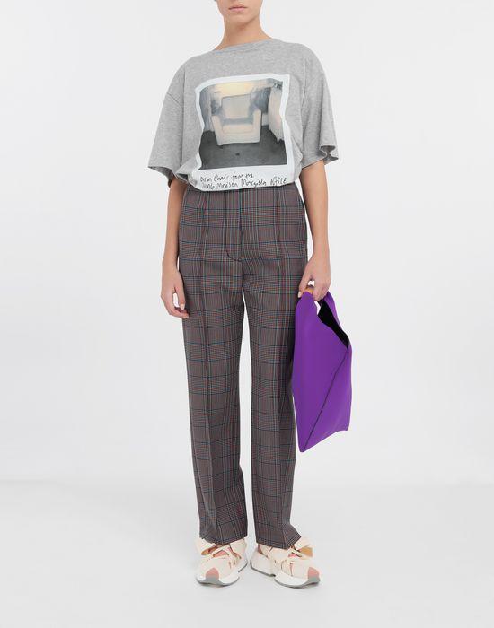 MM6 MAISON MARGIELA Polaroid chair printed T-shirt Short sleeve t-shirt [*** pickupInStoreShipping_info ***] d