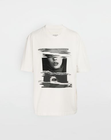 MAISON MARGIELA Short sleeve t-shirt [*** pickupInStoreShippingNotGuaranteed_info ***] Graphic print T-shirt f